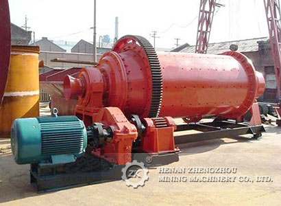 Several common types of ball mill