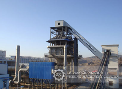 What is the large angle belt conveyor?