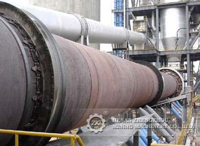 Cement rotary kiln for incineration of hazardous waste