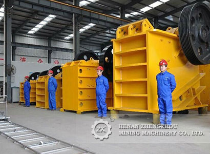 Construction waste treatment production line