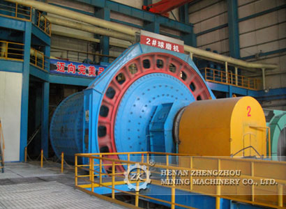 Beneficiation ball mill equipment