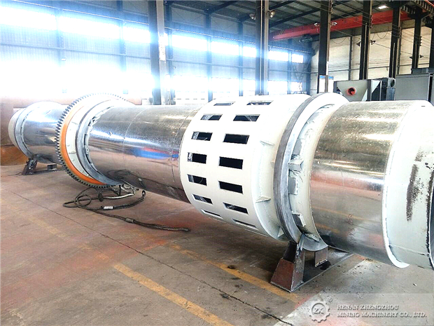 Customized Rotary Dryer For Thailand