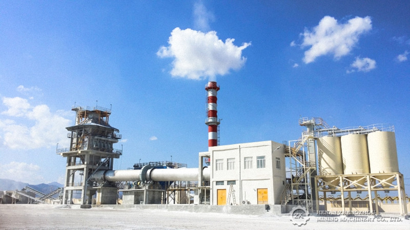 200tpd Quick Lime Plant in Iran