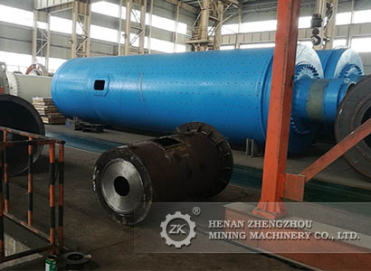 Ф900×1800 Wet Ball Mill for Russia Customer