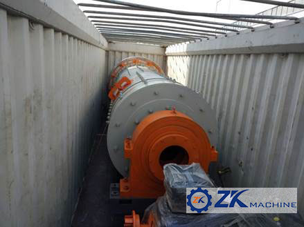 1.5x5.7m Ball Mill for Limestone Crushing Project to Pakistan