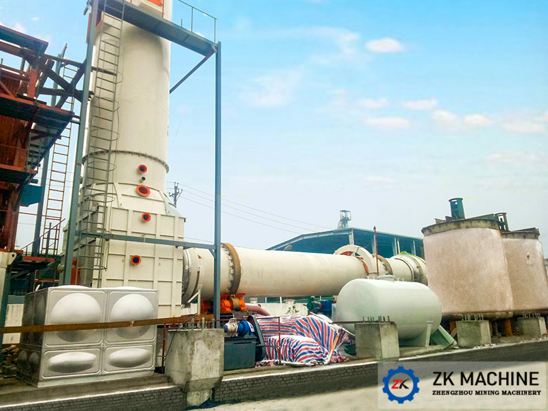Rotary Kiln for Waste Incineration
