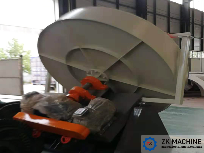 Disc Granulator for Xinxiang Huaxing Chemical Co., Ltd., China