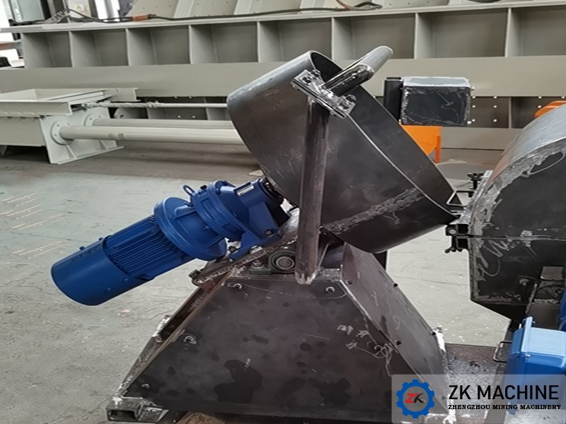 Φ500mm Experimental Disc Granulator for Yunan Chihong Zn & Ge Co., Ltd